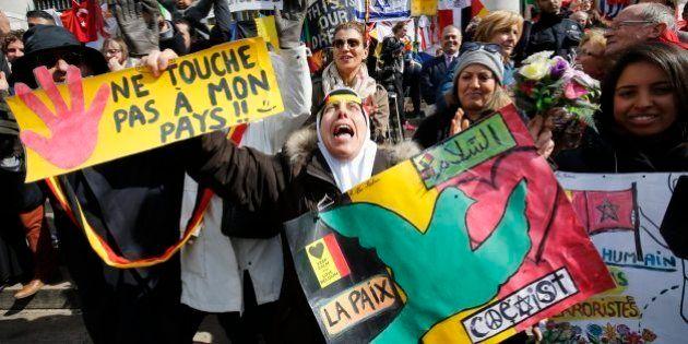 La Marcha contra el terror y el odio reúne a más de 15.000 personas en