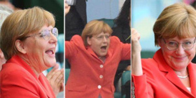 Mundial 2014: Merkel disfruta con Alemania y otras imágenes de la Copa del