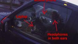 Usa el portátil, los auriculares y el móvil... todo a la vez ¡y conduciendo!