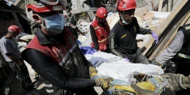 Ya son más de 500 los muertos por el terremoto en