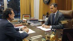 Felipe VI se reunirá con Mariano Rajoy, Pedro Sánchez y Pablo Iglesias el viernes 22 de