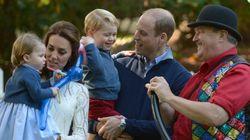 Cuidado príncipe Jorge, tu hermana Carlota va a robarte el