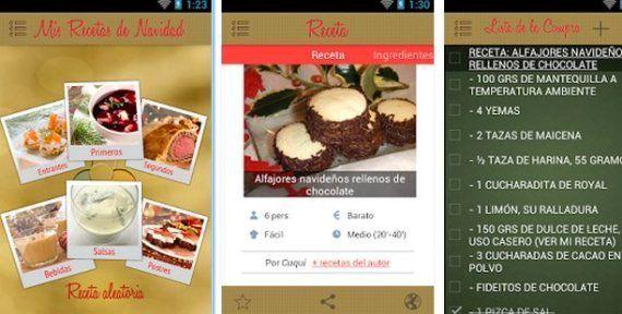 'Apps' de Navidad: aplicaciones de móvil que te harán la vida más