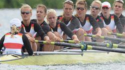 Una remera alemana abandona los Juegos por lazos con la extrema