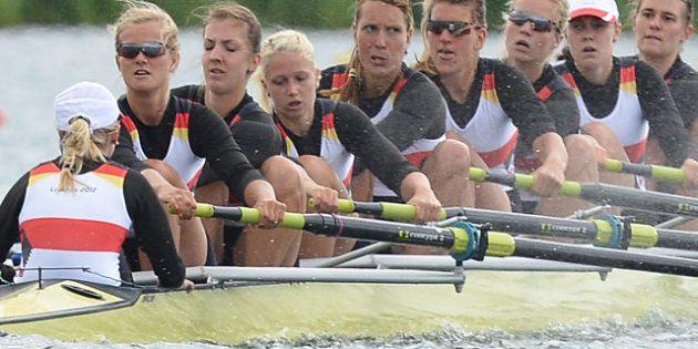 Juegos Londres 2012: La remera alemana Nadja Drygalla abandona los Juegos por lazos con la extrema