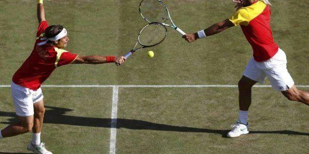 Juegos Londres 2012: Ferrer y Feliciano López se quedan sin final de dobles en