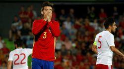 Batacazo de España antes de debutar en la