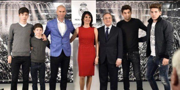 Los hijos de Zidane, el caso más surrealista de explotación de