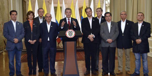Santos, tras el 'no' al acuerdo con las FARC: