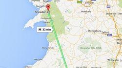 Google Maps en Reino Unido calcula tu ruta en transporte público, en dragón y en monstruo del Lago