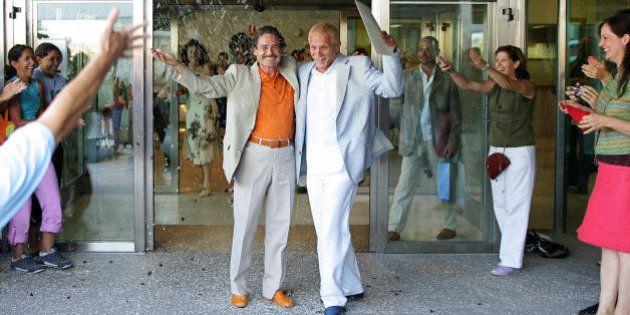 Diez años de la primera boda gay en España: