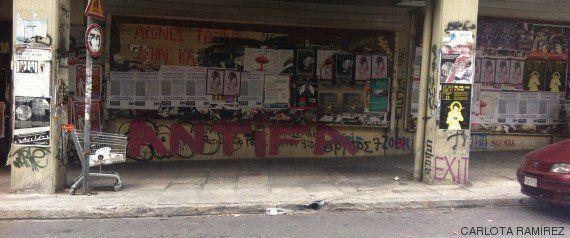 La vida en Exarchia, el barrio anarquista de