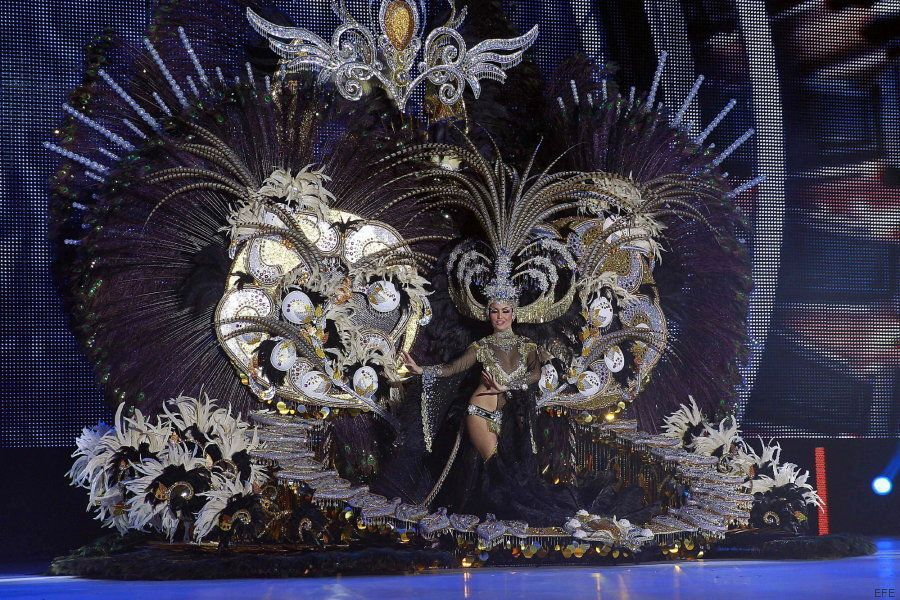 Adtemexi Cruz, Reina del Carnaval de Tenerife 2015