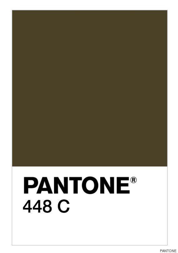 ¿Cuál es el color más feo del mundo? Los expertos dicen que este, el Pantone 448