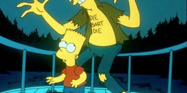 El Actor Secundario Bob mata a Bart Simpson en el capítulo 'La Casa Árbol del Terror' de