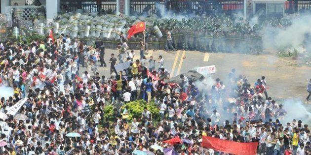 Varias empresas japonesas cierran en China tras las protestas