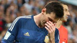 Las arcadas de Messi y otras imágenes de la final