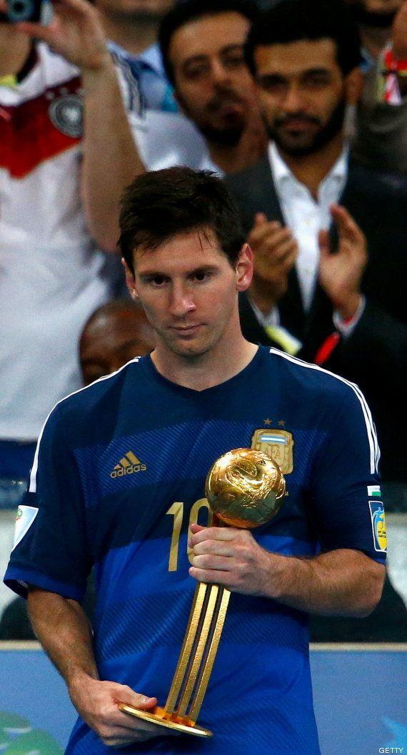 Las arcadas de Messi y otras imágenes de la final del Mundial