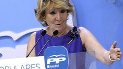 Aguirre pidió a Rajoy hacer las generales al mismo tiempo que las