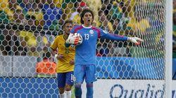 Brasil se estrella contra