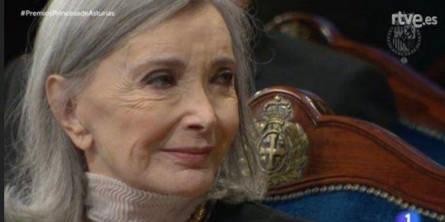 Núria Espert recita a Lorca y Shakespeare al recoger el Princesa de Asturias de las