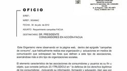 FACUA denuncia amenazas del Ministerio de