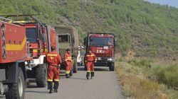 Muere un efectivo de la UME en el incendio de Sierra de