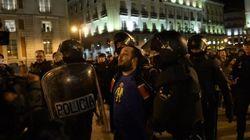 En libertad el bombero detenido en Madrid tras la marcha en apoyo a