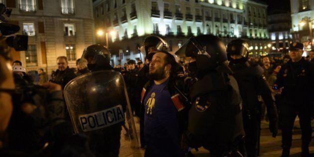 En libertad el bombero detenido en Madrid tras la manifestación en apoyo a