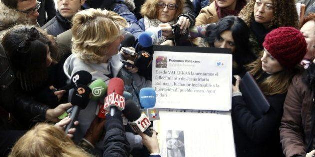 Aguirre lleva al juzgado tuits de una cuenta de Podemos desmentida por