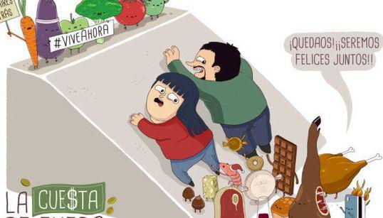 12 meses, 12 ilustraciones: calendario buenrollista para