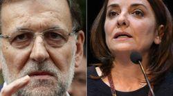 El enfado en directo de Rajoy con Pepa Bueno: