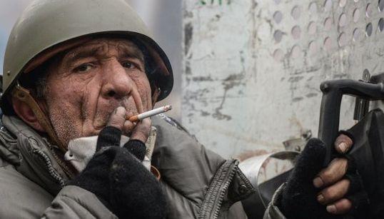 Los rostros de la protesta en Kiev