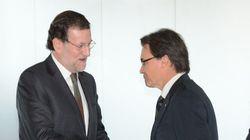 Los recaditos de Rajoy y Mas antes de su