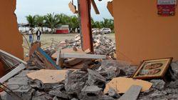 Ascienden a 350 los muertos por el terremoto en