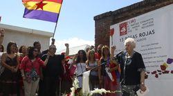 Homenaje a las 13 Rosas 73 años después de su