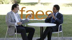 Aznar y Rajoy guardan silencio sobre