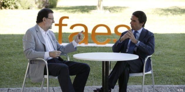 Aznar y Rajoy guardan silencio sobre Bárcenas tras la publicación de sus declaraciones en 'El