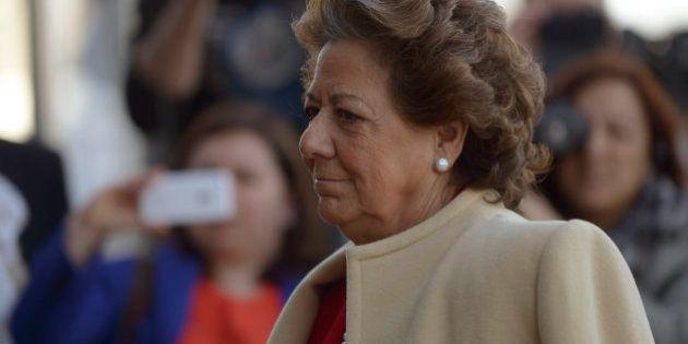 El juez pide al Supremo que impute a Rita Barberá por