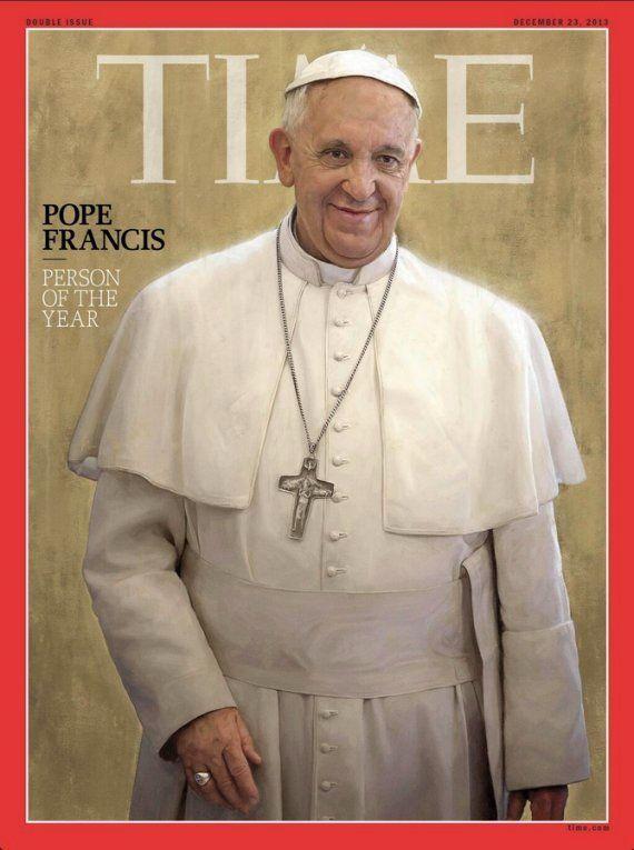 Persona del año para Time 2013: El papa