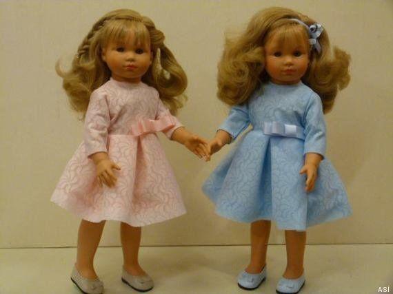 Muñecas de Leonor y Sofía: las hijas de los reyes, el día de la proclamación