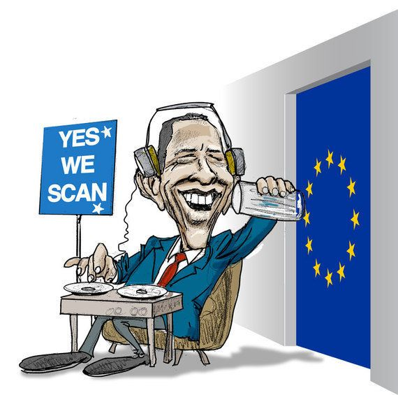 'Yes we scan': espionaje