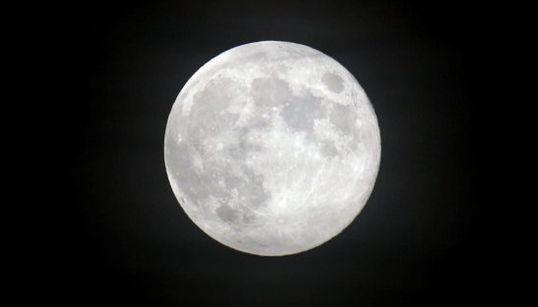 ¿Has visto ya la Luna de cosecha?
