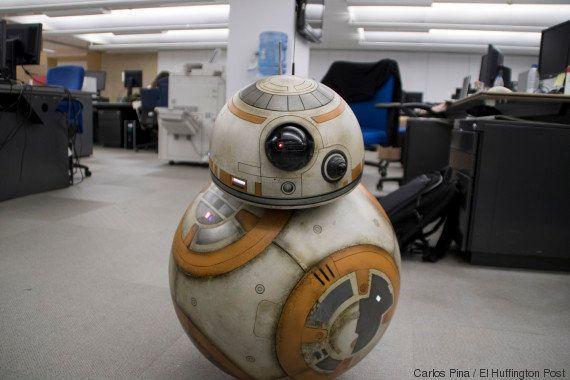 Entrevista con BB8, el pequeño robot estrella de 'Star