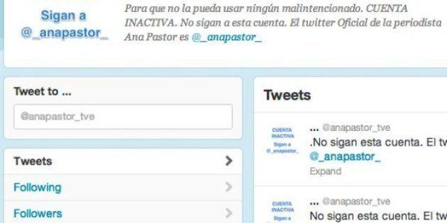 En Twitter, @anapastor_tve se convierte en