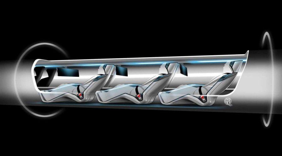 Hyperloop: fotos del tren que viaja a la velocidad del