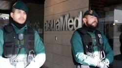 Varios detenidos en el registro de la sede de la empresa pública