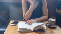 Que esté leyendo en un lugar público no significa que quiera que me