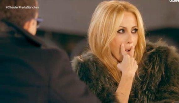 Marta Sánchez ganó 6.000 euros por cantar 'Colgando en tus manos'