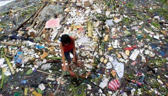 El tifón Rammasun azota Filipinas